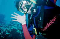 Underwater Goofing Off