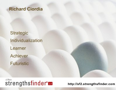Andy's Strengths