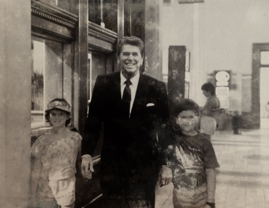 Andy Meets Ronald Reagan