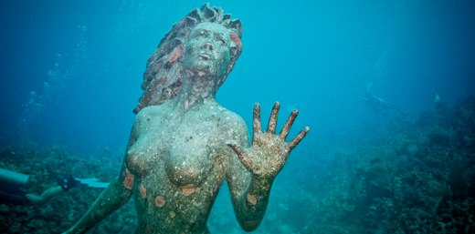 Underwater Mermaid: An Aging Relic of Time Gone By